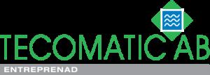 Tecomatic Entreprenad AB Logotyp