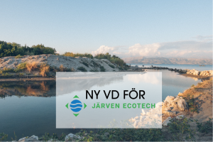 PEQ Invest - Portföljbolaget Järven Ecotech får ny VD